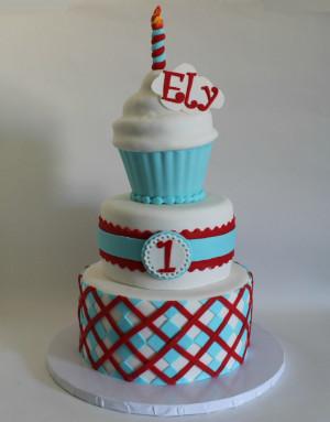 Boys First Birthday Cake Ideas