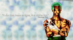 Wallpaper Roronoa Zoro One Piece