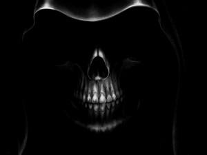 Grim Reaper Face Death