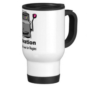 slot machine coffee travel mugs. Fun gift items with Christian quotes ...