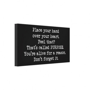 Suicide Prevention Quotes Motivational Stretched Canvas Prints