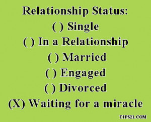 Relationship Status - Most Liked Facebook Status Pictures With Quotes