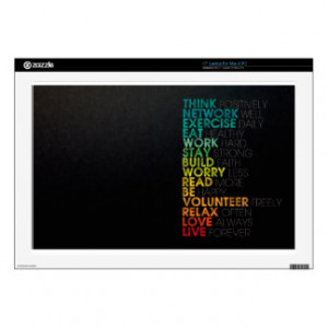 Famous Quotes Laptop Skins (for Mac & PC)