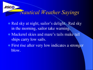 Nautical Weather Sayings by 08zTHnc