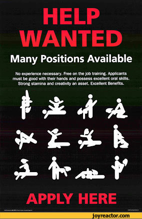 HELP WANTEDMany Positions AvailableNo exporter necessary. Freo on the ...