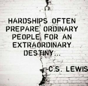 Inspirational Quote: Extraordinary Destiny