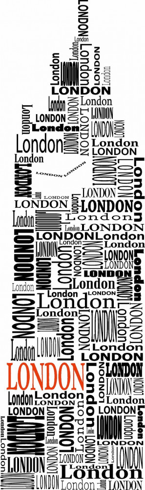 Vinyl Wall Art | London Wall Decal