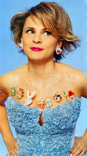 ... . Amy Sedaris would be way proud, because she's all about crafting