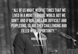 Robert Kennedy Quotations Sayings Famous Quotes Of