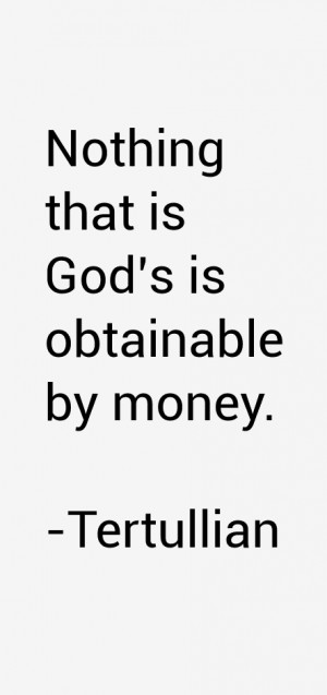 Tertullian Quotes amp Sayings