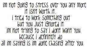 not going to stress over you any more it isn't worth it. I tried ...