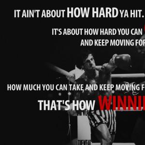text quotes typography rocky balboa rocky the movie motivation Art HD ...