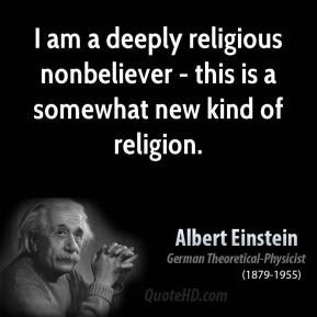 physicist religious quote