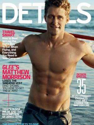 Glee' Star Matthew Morrison -- Shirtless Schuester!