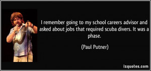 More Paul Putner Quotes