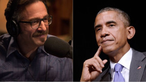 Marc Maron interviewed President Obama for his 'WTF' podcast. Tyler ...