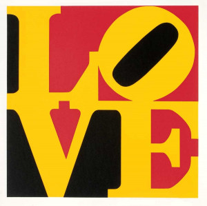 Robert Indiana Untitled Art