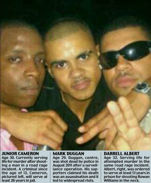 Posing with a killer and a gangster, 'family man' Mark Duggan whose ...