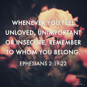 Remember to Whom You Belong