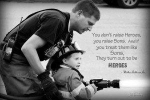 Would love this quote with a police officer also.. so precious.