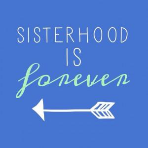 Sisterhood www.adamblockdesign.com