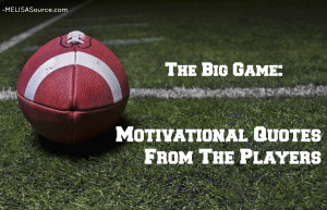 Friday Of Phrases: Motivational NFL Player Quotes