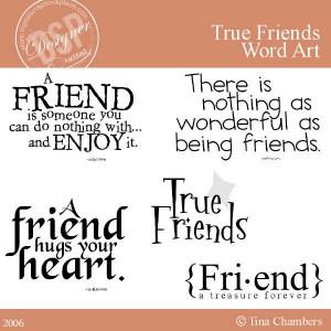 True Friendship quote #2