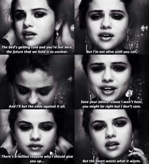 ... Gomez Secret, Wants Selena Gomez, Selena Gomez Quotes And Lyrics