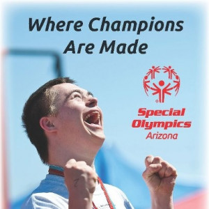Awesome photo from Special Olympics Arizona. We should all have such ...