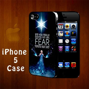 B1153 Elsa Frozen Quotes Iphone 5 Case | statusisasi - Accessories on ...