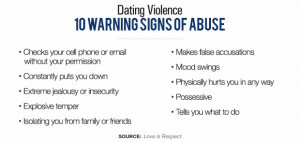 10 Warning Signs of Abuse