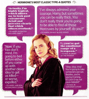 classic Hermione quotes! LOVE! by louise