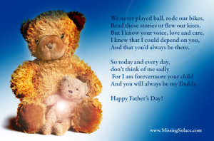 Free miscarriage / stillbirth e-card Father's Day