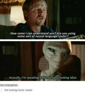funny alien movie
