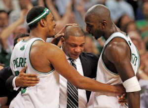 Doc, Pierce, and KG discuss 'silly' trade rumors