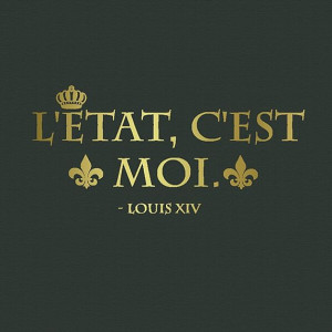 Wall Decal Quotes Louis XIV quote L'etat by TenaciousQuotations, $15 ...