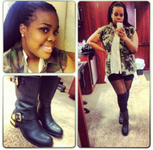 Check out Amber Riley's FRESH InstaGLAM style!