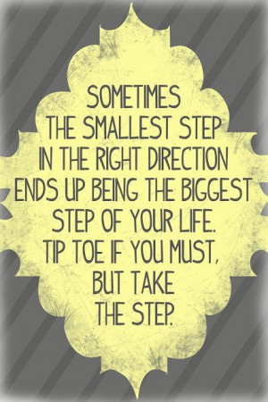 We all fell a few times before we took our 1st steps. Don't let fear ...