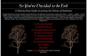 http://www.darksites.com/souls/horror/evilguide/index.html
