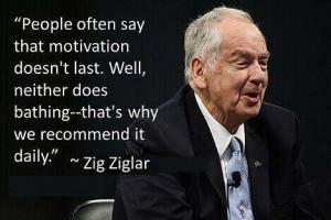 Inspiration from Zig Ziglar