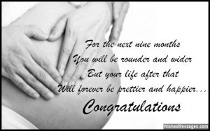 Congratulations for pregnancy: Pregnancy wishes