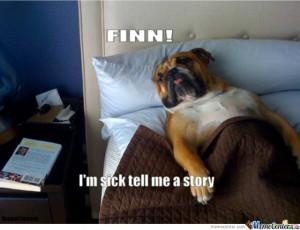 Sick Dog Is Ill