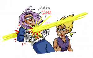dragon ball Z dragon ball vegeta Trunks Briefs dad jokes THIS IS ...