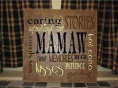 Mamaw mamaw board