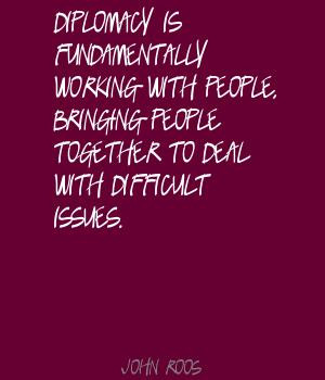 ... Working With People. Bringing People Together To Deal With Difficult