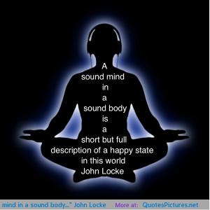 "sound mind in a sound body…"" John Locke motivational ..."