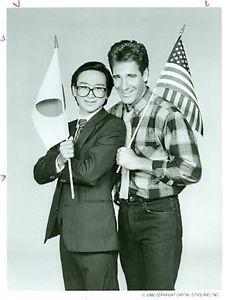 SCOTT BAKULA GEDDE WATANABE PORTRAIT GUNG HO ORIGINAL 1986 ABC TV