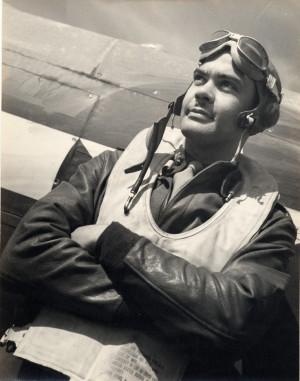 Benjamin O. Davis, Jr., wearing flight gear as a Tuskegee Airman : 2 ...