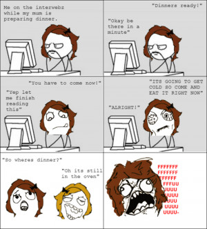 hate it when my Mom does this.