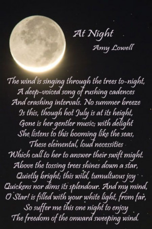 Amy Lowell Quotes | Amy Lowell - At Night photo At_Night_Amy_Lowell-1 ...